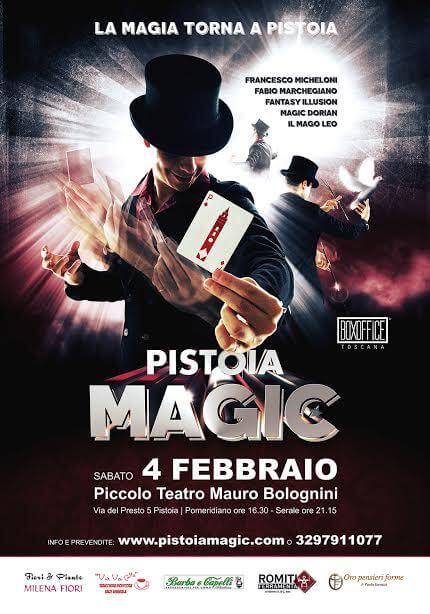 Pistoia Magic 2016, spettacolo prodotto e diretto da Francesco Micheloni