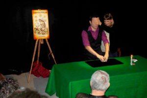 Spettacolo al Club Magico di Firenze gruppo toscano prestigiatori
